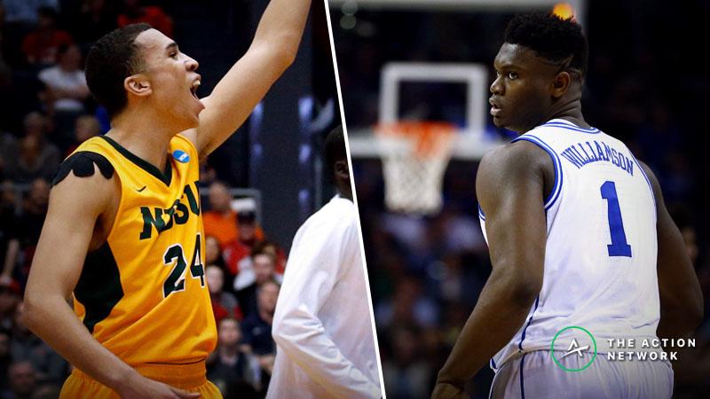 Duke vs. North Dakota State Betting Guide: Zion's NCAA Tournament Run Starts Here article feature image