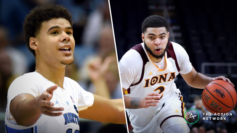 North Carolina vs. Iona Betting Guide: Who Covers This Offensive Showdown? article feature image