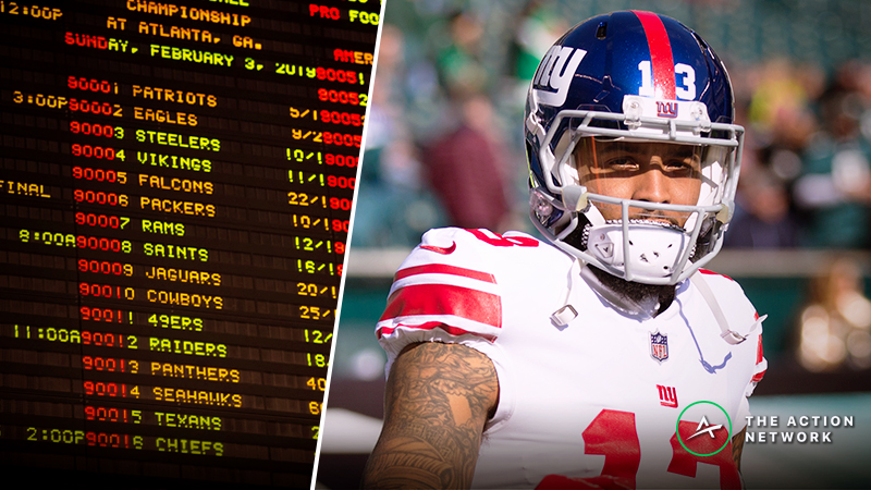 Odell Beckham Trade Quickly Makes Browns Most Popular Super Bowl Bet article feature image