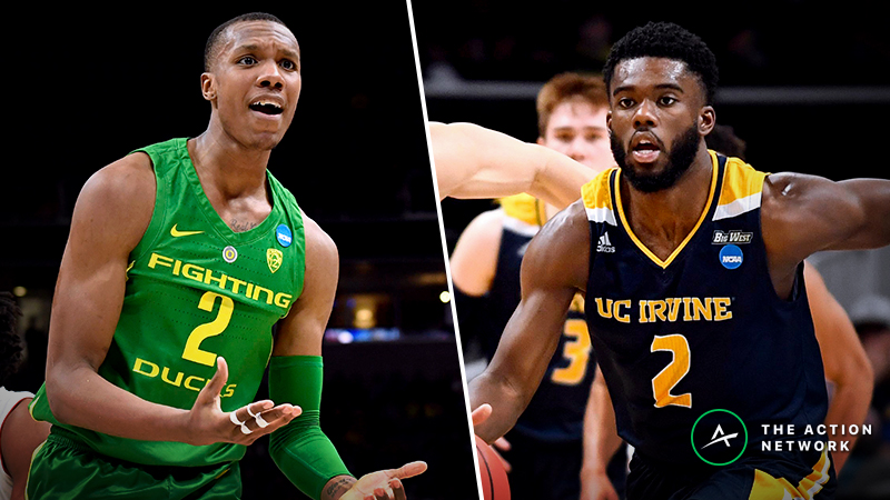 Oregon vs. UC-Irvine Betting Guide: Live Duck Hunting in the Late NCAA Tournament Game article feature image