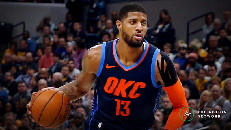 Raybon's Favorite NBA Props for Monday: Will Paul George Dish 5 Dimes? article feature image