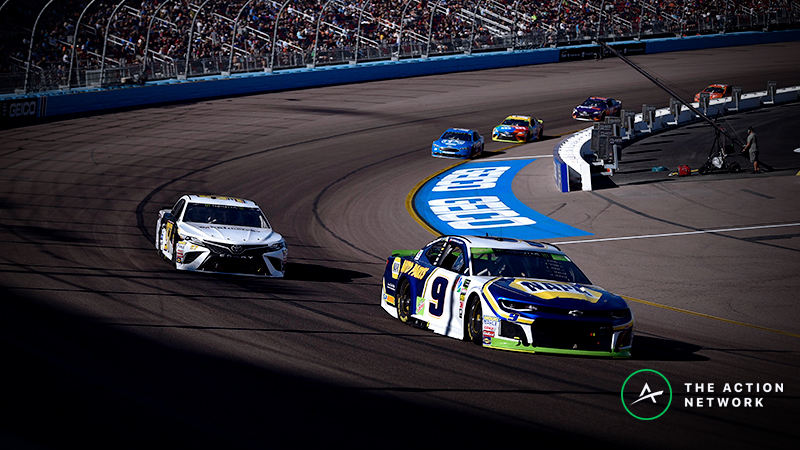 Freedman's Favorite NASCAR Matchup Prop: Chase Elliott vs. Martin Truex Jr. at TicketGuardian 500 article feature image