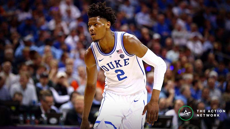 Sweet 16 Vegas Report: Sharps, Squares Disagree on UNC-Auburn, Public Fading Duke article feature image