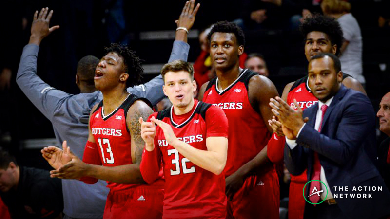 College Basketball Betting Data, March 13: Bettors Loading Up on Rutgers article feature image