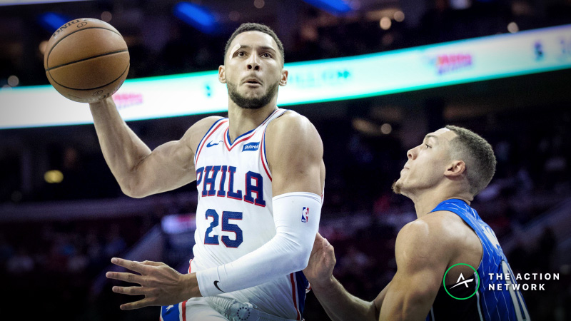 NBA Sharp Report: Wiseguys Hitting Magic-Sixers, Bulls-Pacers on Tuesday article feature image