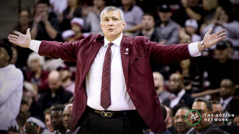 Friday SEC Tournament Betting: Is South Carolina Getting Too Many Points vs. Auburn? article feature image