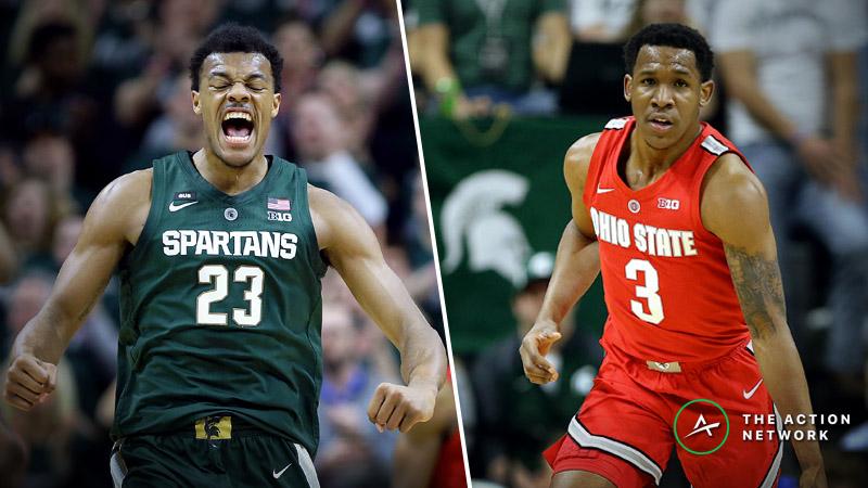 Big Ten Tournament Betting: Ohio State-Michigan State, Nebraska-Wisconsin article feature image
