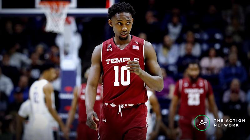 Saturday's College Basketball Betting Previews: UCF-Temple, Villanova-Seton Hall article feature image