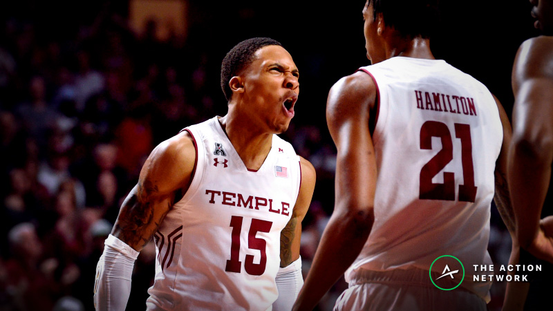 College Basketball Sharp Report: Pros Betting Temple-Belmont, 2 Other Games Tuesday article feature image