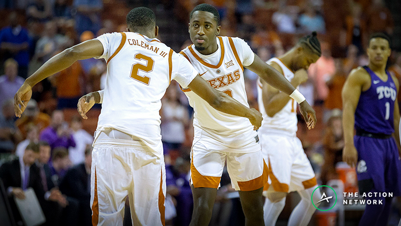 CBB Sharp Report: Colorado-Texas Among Wednesday's Top Pro Bets article feature image