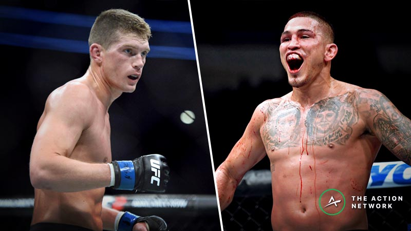 UFC Fight Night 148 Betting Preview: Does Anthony Pettis have a Shot vs. Stephen Thompson? article feature image