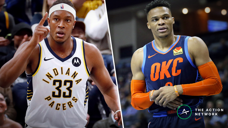 Pacers-Thunder Betting Preview: Which Offense Will Break Its Slump? article feature image