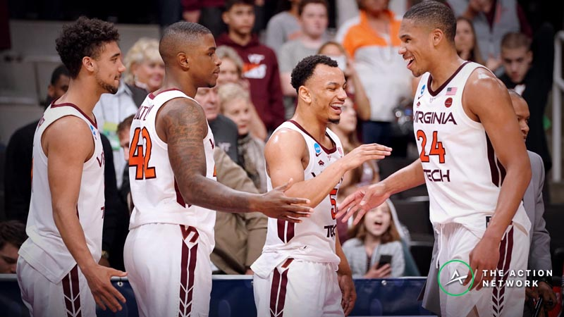 Freedman's Favorite Virginia Tech-Liberty NCAA Tournament Player Prop Bets article feature image
