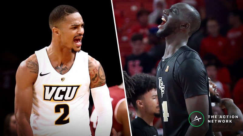 VCU vs. UCF Betting Guide: Which Team Will Control Paint in NCAA Tournament? article feature image