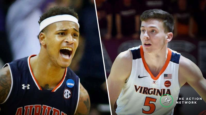Virginia vs. Auburn Betting Odds: Opening Point Spread, Over/Under for 2019 Final Four article feature image