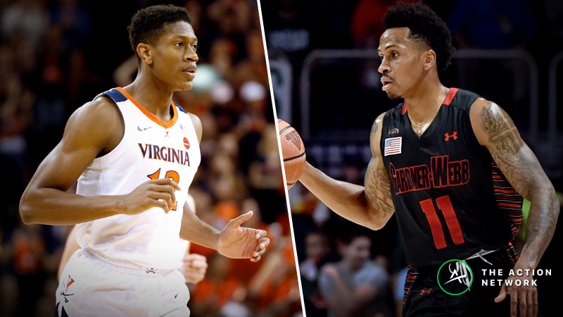 Virginia vs. Gardner Webb Betting Guide: Could Cavaliers Slip Up in NCAA Tournament Again? article feature image