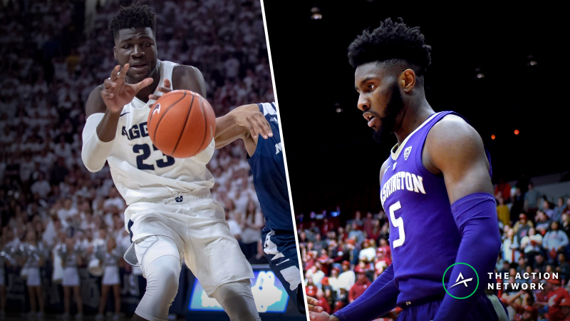 Washington vs. Utah State Betting Guide: Aggies Have Key Edges on Both Ends article feature image