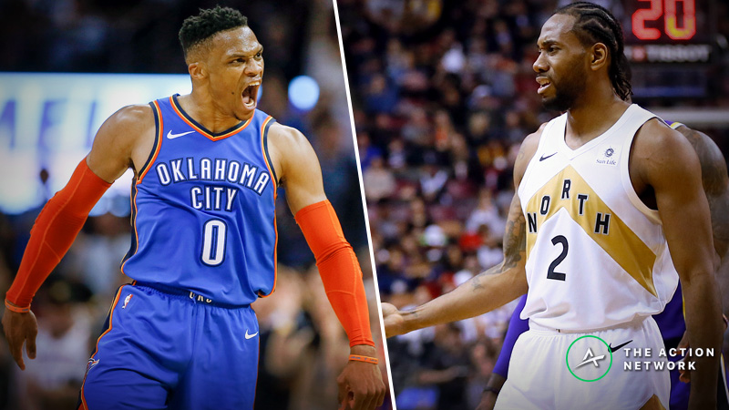 Raptors-Thunder Betting Guide: Can Short-Handed Toronto Compete on the Road? article feature image