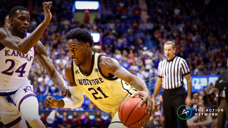 CBB Sharp Report: Pros Betting UNC Greensboro-Wofford, 2 Other Monday Games article feature image