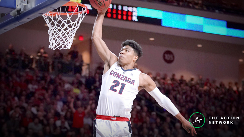 Gonzaga Earns Toughest Draw Among 1-Seeds in NCAA Tournament article feature image