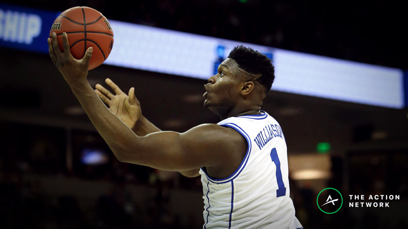 Freedman's Favorite Duke-UCF Player Prop Bets: Zion Williamson's Points and More article feature image