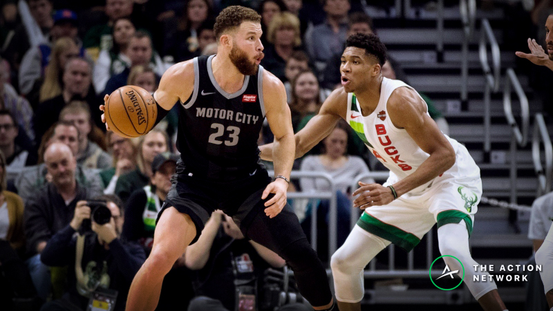 Bucks-Pistons Series Betting Preview: Bet on a Milwaukee Sweep article feature image