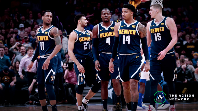 Nuggets vs. Spurs Game 7 Betting Preview: Will Denver's Young Core Step Up? article feature image