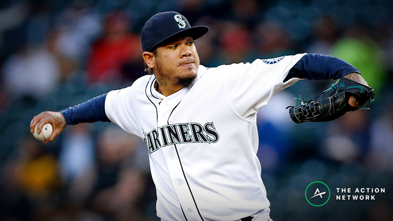 MLB Daily Betting Model, 4/30: Felix Hernandez Is an Old Dog Learning New Tricks article feature image
