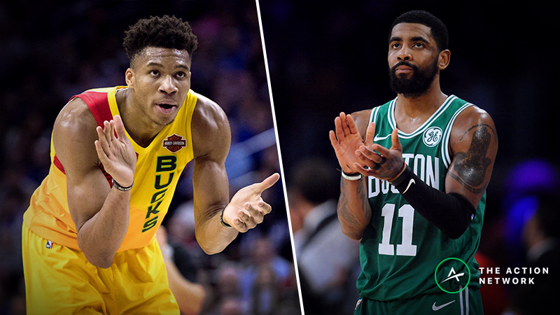 NBA Playoffs Series Odds, Schedule: Bucks vs. Celtics article feature image
