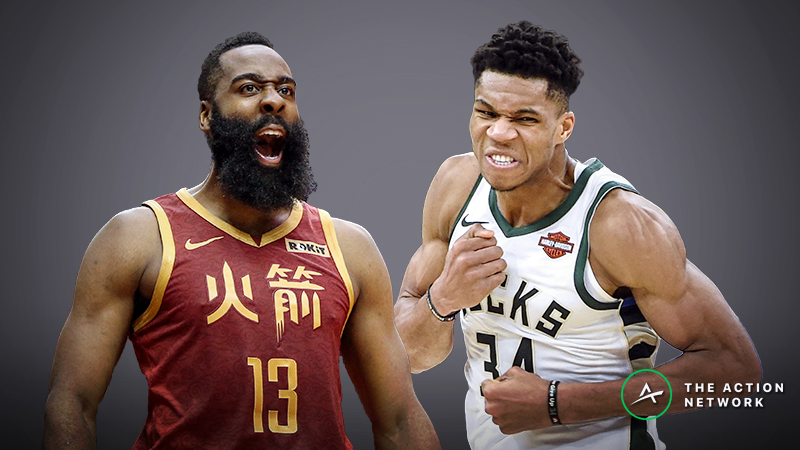 Moore's NBA MVP Vote: The Deciding Factor in James Harden vs. Giannis Antetokounmpo article feature image