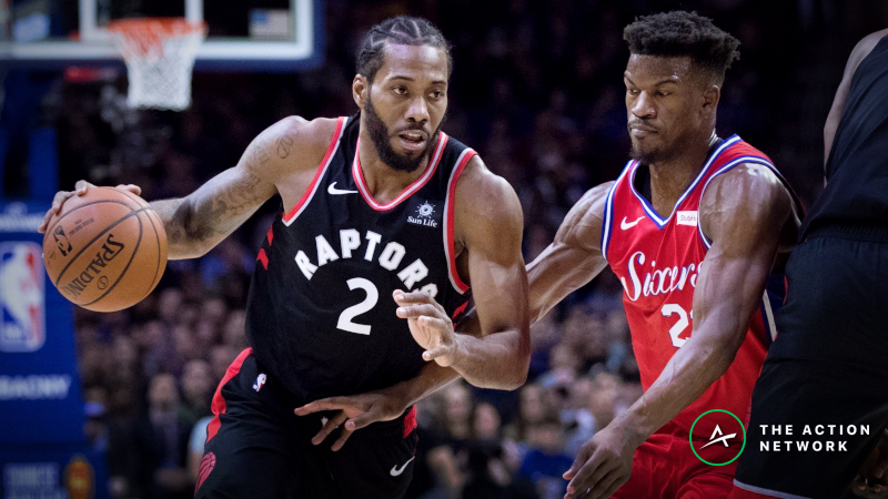 Raptors vs. Sixers Series Betting Preview: Toronto Is Undervalued article feature image