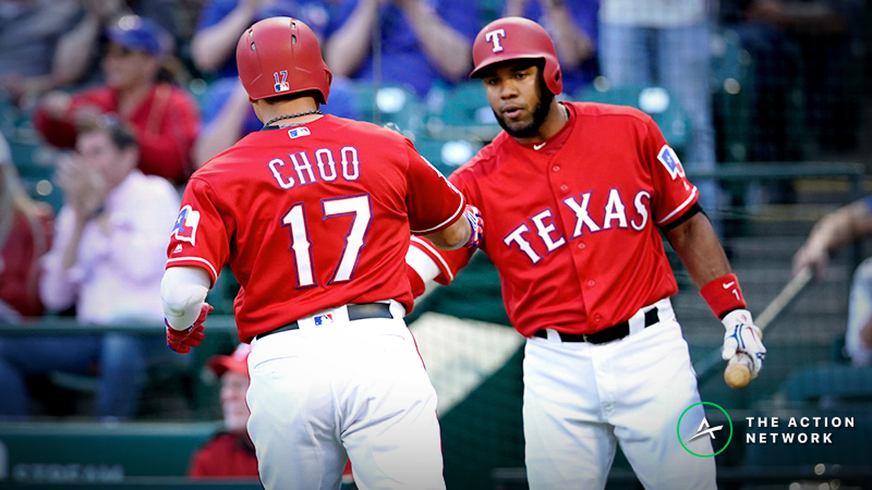 MLB Daily Betting Model, 4/22: How to Play Rangers-Athletics Over/Under article feature image