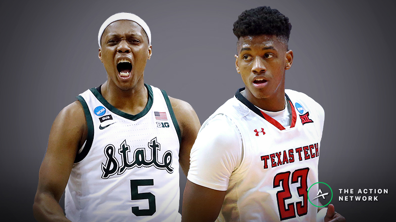 Michigan State vs. Texas Tech Betting Guide: Elite Halfcourt Battle in Final Four 2019 article feature image