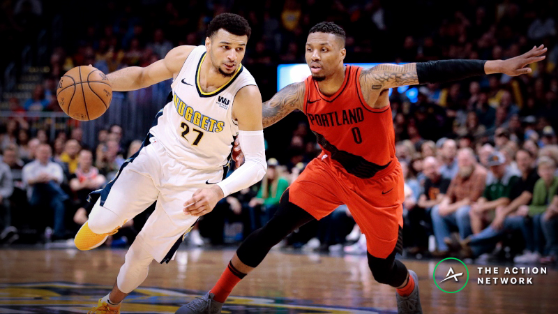 Moore: How to Bet the Blazers vs. Nuggets Series article feature image
