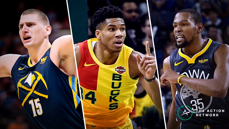 2019 NBA Playoffs Cheat Sheet: First-Round Betting Odds, Picks, DFS, More article feature image