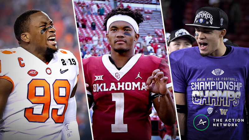 2019 NFL Draft Bets: Our Staff's Favorite Prop Picks article feature image