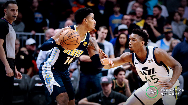 NBA Playoff Scenarios Give Nuggets Moneyline Value vs. Jazz article feature image