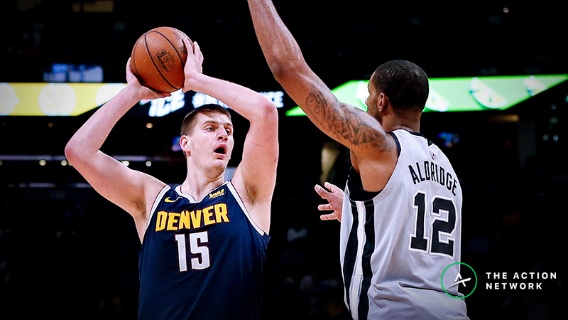 Nuggets-Spurs Series Betting Preview: Is There Actually Value in Fading Denver's Inexperience? article feature image