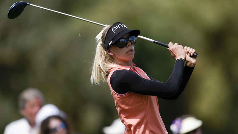 Lindberg's Lost Bet: How an LPGA Major Champ Wound Up Doing Push-Ups in Her Underwear … in Public article feature image