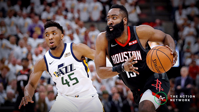 Rockets vs. Jazz Game 5 Betting Preview: Can Utah Extend Series Again? article feature image