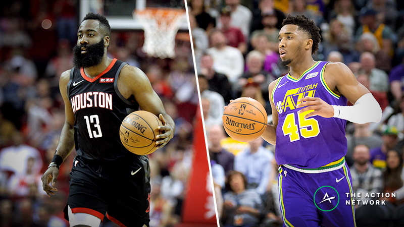 Updated Rockets vs. Jazz Series Odds, Schedule article feature image