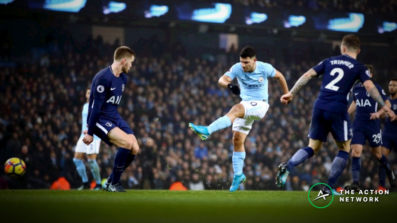 Tottenham vs. Manchester City Betting Preview: Can Spurs Take First Leg of Champions League Quarterfinal? article feature image