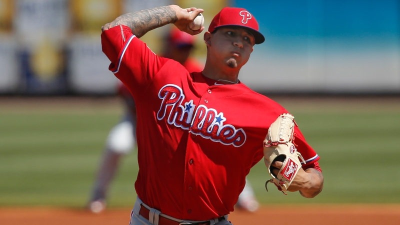MLB Player Props: Can Vince Velasquez Strikeout More than 5 Marlins? article feature image