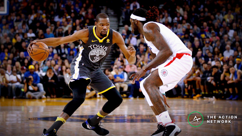 Warriors-Clippers Series Betting Preview: Bet on a Golden State Sweep? article feature image