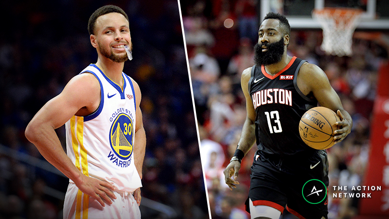 NBA Playoffs Series Odds, Schedule: Warriors vs. Rockets article feature image