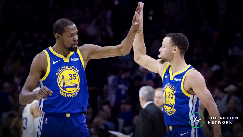 The Warriors Are a Terrible Bet in the Regular Season, but Bet on Them in the Playoffs article feature image