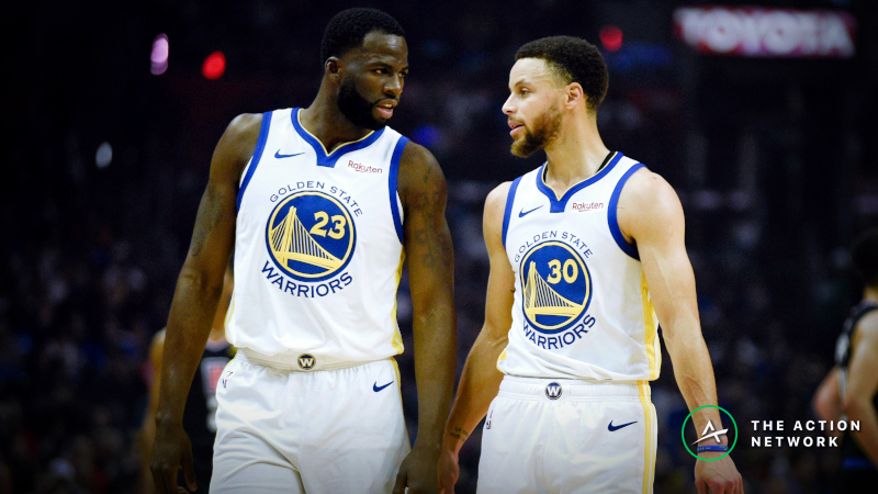 Warriors vs. Clippers Game 4 Betting Preview: Will Golden State Cover the Big Number? article feature image