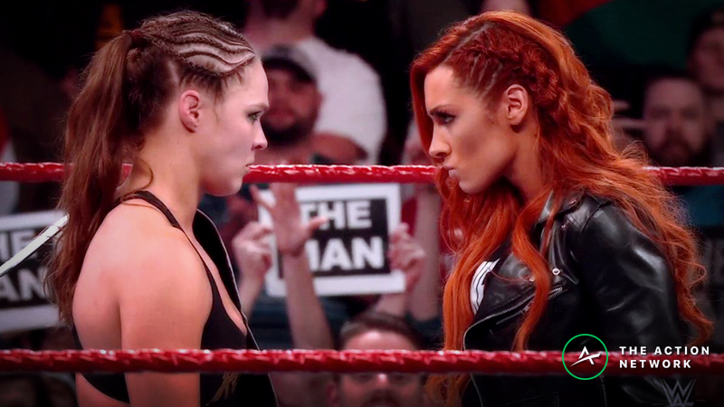 Wilson's 5 Favorite WrestleMania 35 Bets: Who Should You Back to Win the Historic Main Event? article feature image