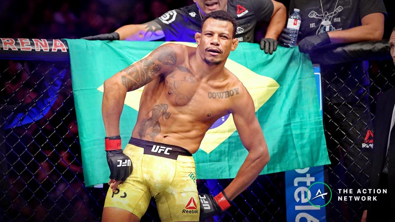 UFC Fight Night 150 Undercard Betting Preview: Alex Oliveira vs. Mike Perry and a Best Bet article feature image