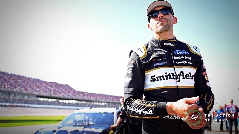 NASCAR Betting Picks: Value With Stenhouse Going to Rear at Talladega? article feature image